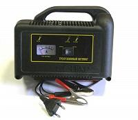 Позволяет заряжать автомобильные аккумуляторы ёмкостью от 25 до 75Ач