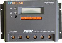 Контроллер заряда EPSolar ViewStar 5024N 50А 12/24В